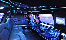 Limousine ride to casino. Book GTA Limo Rentals