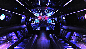 City Limousine Service in Night